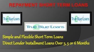 Repayment Short Term Loans