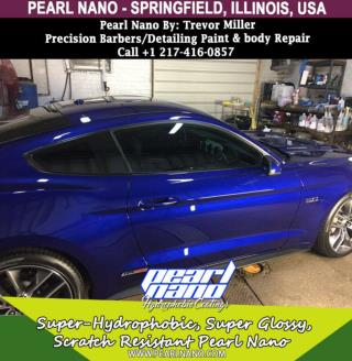 Precision Barbers Detailing Paint & Body Repair- Pearl Nano Coating