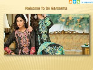 Designer Pakistani Clothes Online in USA