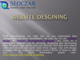 Website Design & Web Development Company In India | SEOCZAR