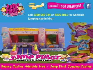 Bouncy Castles Adelaide Hire - Jump First Jumping Castles
