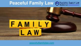 Family Law Attorney Phoenix - Peaceful Family Law