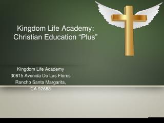 Best Christian academy in orange county