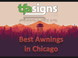 Best Awnings in Chicago