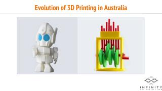 Evolution of 3D Printing in Australia