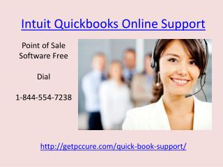 Contact us on 1-844-554-7238 for Intuit Quickbooks Online Support