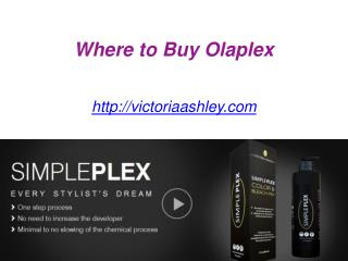 Where to Buy Olaplex - Victoriaashley.com