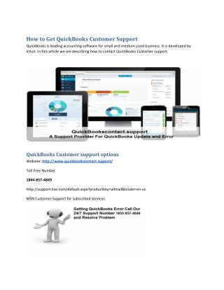 How to Get QuickBooks Customer Support