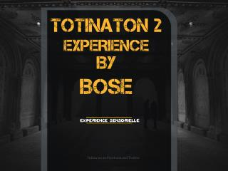 TOTINATRIONII BY BOSE