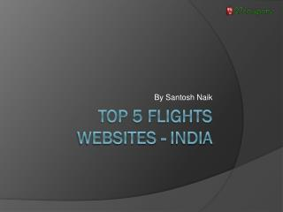 Top 5 Flights websites