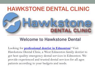 Emergency Dentist West Edmonton