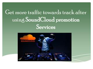 SoundCloud Promotion Services