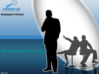 Leading Job Portal in Sri Lanka