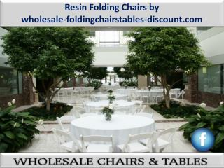 Resin Folding Chairs by wholesale-foldingchairstables-discount.com