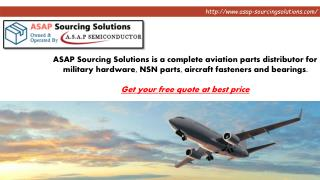 ASAP Sourcing Solutions – How to get a quote for your required part number?