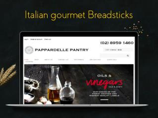 Italian gourmet Breadsticks - Pantry of Pappardelle