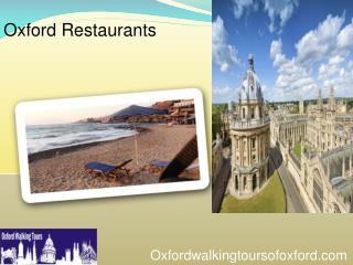 Oxford Restaurants