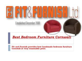 Bedroom Furniture Cornwall