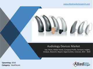Audiology Devices Market : Industry Size & Analysis