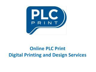 Digital Printing Company Berkeley - Online PLC Print
