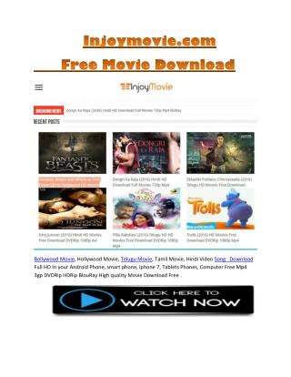 Injoymovie.com - Free HD High Quality Movie Download
