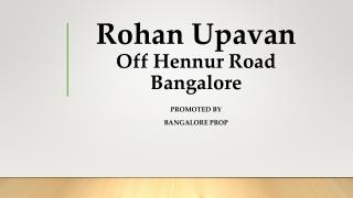 Rohan Upavan Bangalore