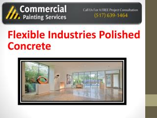 Flexible Industries Polished Concrete