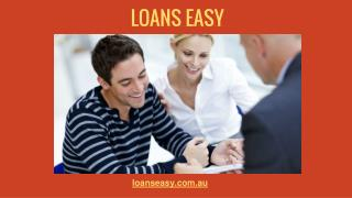 Easy Online Loans in Australia from Loans Easy
