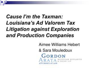 Aimee Williams Hebert   Sara Mouledoux