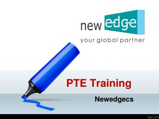 PTE Training, Best PTE Coaching Institutes, PTE Training Institutes – Newedgecs