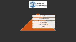 Melbourne Carpet Clean Offers Commercial and Office Cleaning In Melbourne