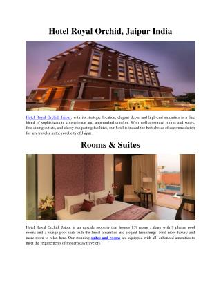 Hotel Royal Orchid, Pune
