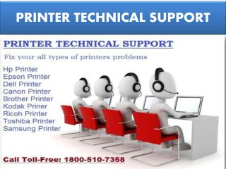 Dial 1800-510-7358 Printer Technical support Phone Number