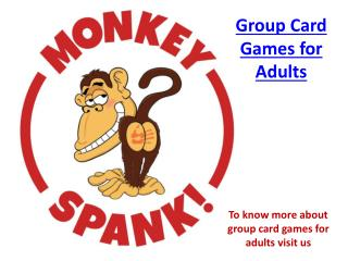 Cards Games for Adults