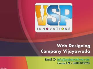 Web Designing Company in Vijayawada, Web Development Services Vijayawada – VSP Innovations
