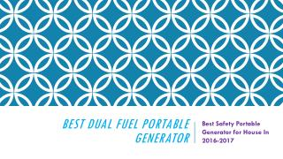 The Champion Power Dual Fuel Portable Generato