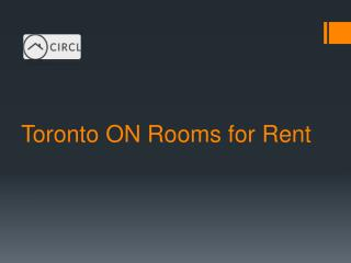Toronto ON Rooms for Rent