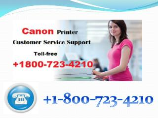 Canon printer customer support  1 800-723-4210 PDF
