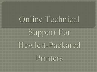 Offline HP Printer Technical Help 800-760-5113