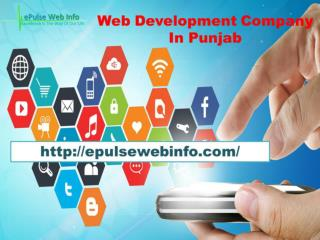 Android Apps Services- Epulsewebinfo.com-Web Development Company In Punjab- IT company in India