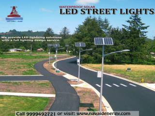 Best manufacturer, installer and designer of Solar LED light in Delhi and Noida NCR.