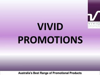 Australia's Best Range of Promotional Products