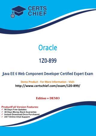 1Z0-899 Professional Certification