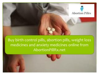 Buy Abortion Pills and Weight Loss Medicines Online