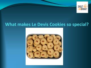 What makes Le Devis Cookies so special?