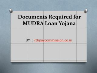 Advantages of Pradhan Mantri Mudra Loan Yojana