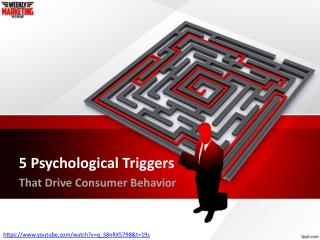5 Psychological Triggers That Drive Consumer Behavior | Viral Marketing