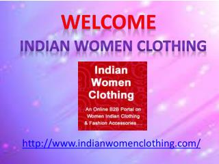 Indian Womens Wear Market Forecast To 2016.indianwomenclothing.com