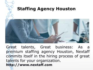 Staffing Agency Houston