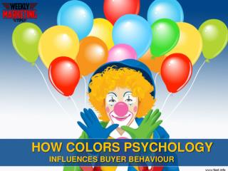 How Color Psychology Influences Consumer Behaviou